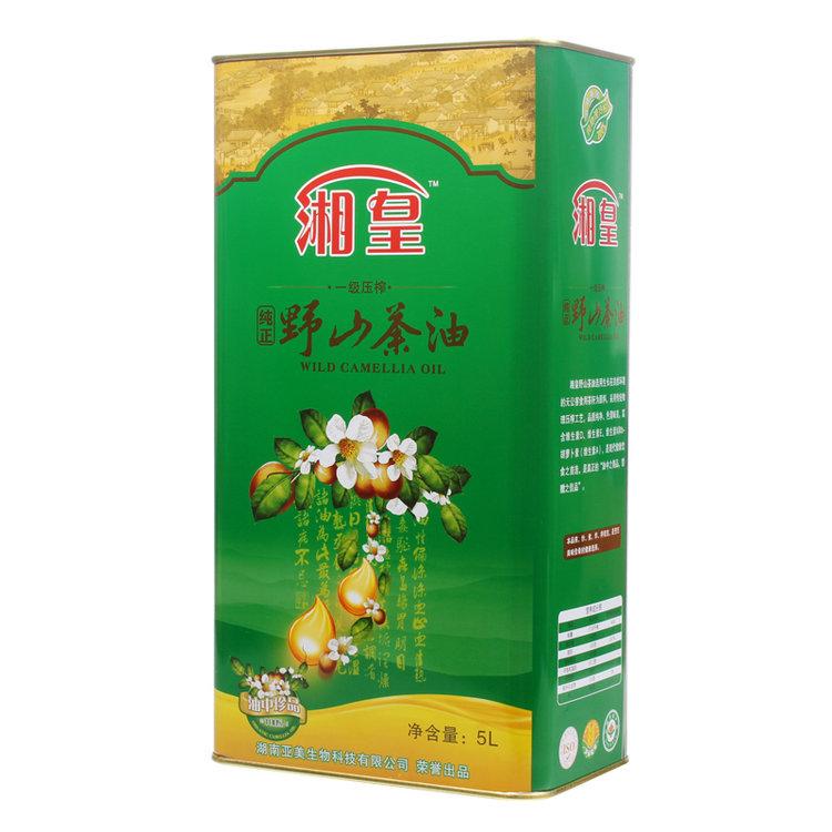 湘皇山茶籽油5L